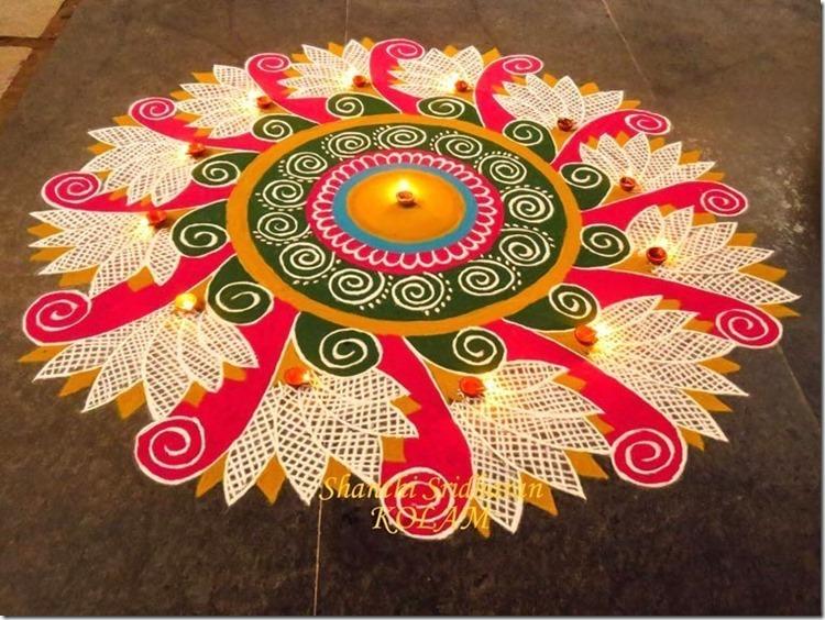 Rangoli para Diwali   (3)
