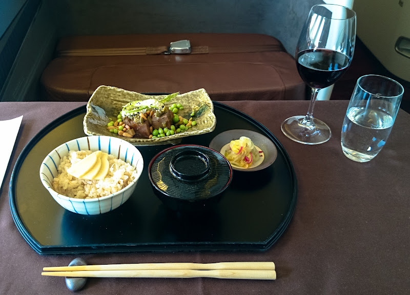 JL%252520F%252520HND LHR 106 - REVIEW - JAL : First Class - Tokyo Haneda to London (B77W)