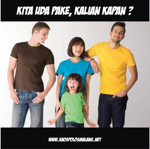 Trend Kaos Polos di Malang