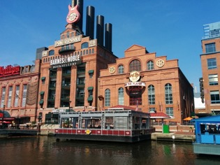 At the heart of Baltimore's Inner Harbor