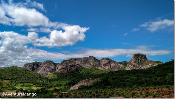 òtima visão do Parque Estadual de Pedra da Boca