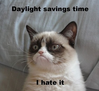 daylight savings i hate it
