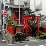 cute little shrine in the back alleys of Akihabara in Akihabara, Tokyo, Japan