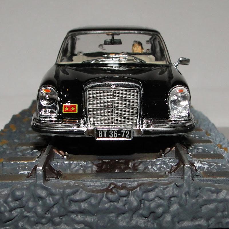 Mercedes benz w108 250se james bond collection for James mercedes benz lexington ky