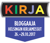 Kirjabloggaaja, Helsingin Kirjamessut 2017