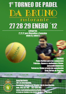 1er Torneo de Padel Da Bruno en Real Club Padel Marbella