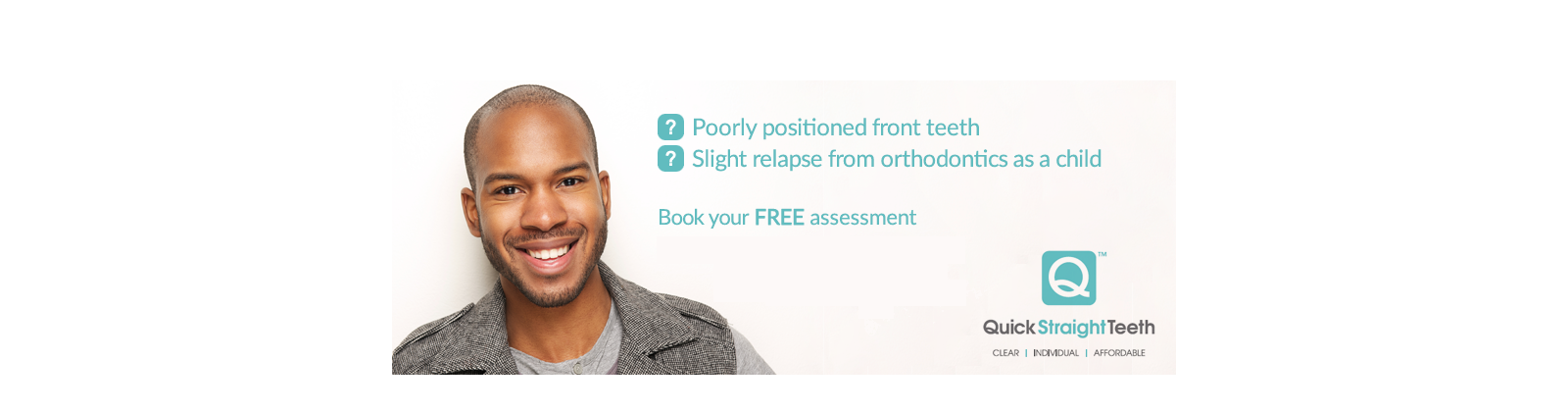 an advert to book a free mouth assessment
