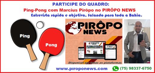 Ping-Pong com PIRÔPO NEWS