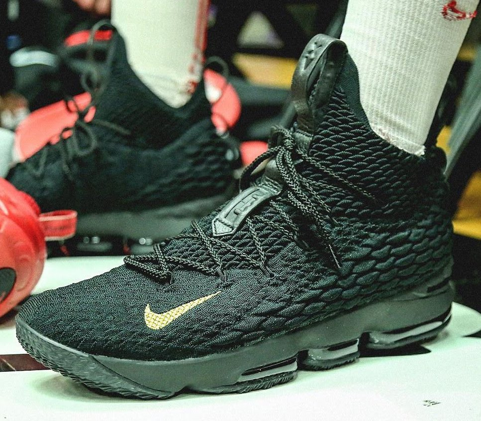 e6152d7e23dcf King James Gifts Special LeBron 15 to Teams at PK80 Tournament ...