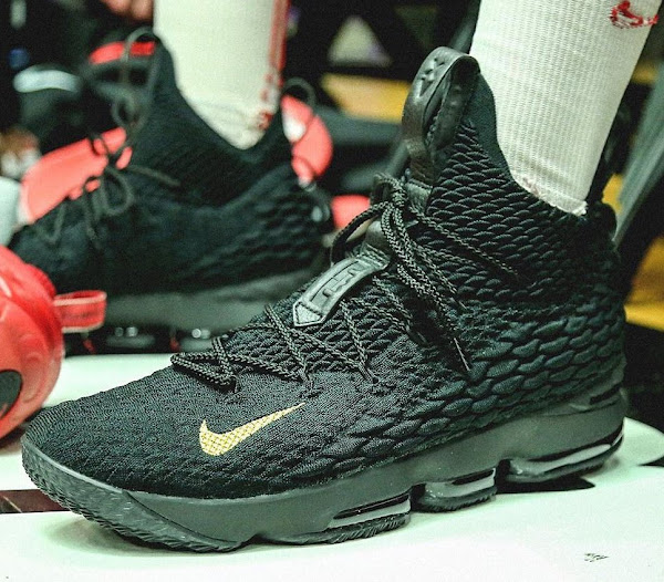 King James Gifts Special LeBron 15 to Teams at PK80 Tournament