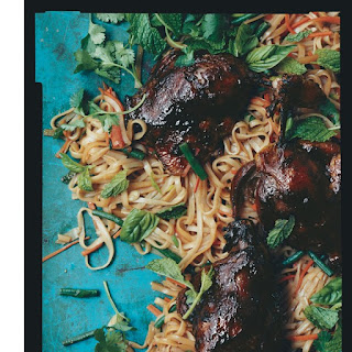 Asian Noodles with Barbecued Duck Confit Recipe