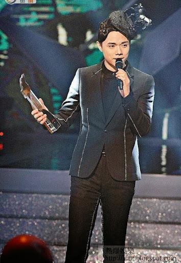 張敬軒首度奪得最受歡迎男歌星獎。