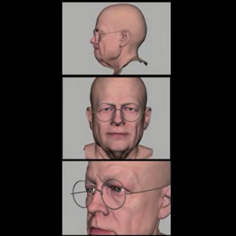 El proceso de creación de rostros artificiales en las películas