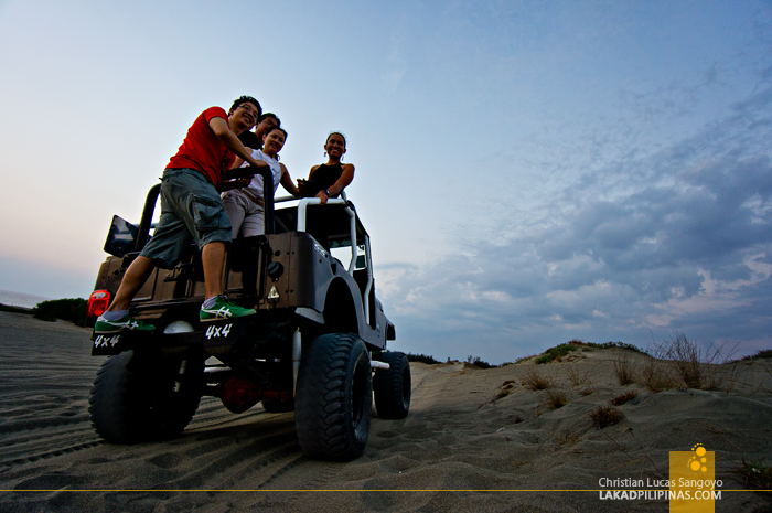 My 4x4 Mates at the Paoay Sand Dunes
