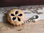 Blueberry Pie Accessory / Keychain
