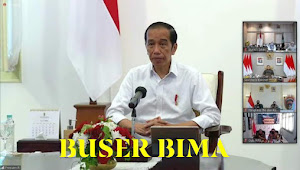 Presiden Joko Widodo Pimpin Ratas Daring Bahas Bencana Banjir di NTB dan NTT