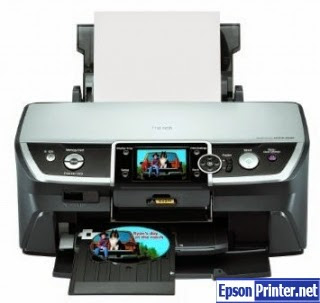 How to reset Epson R380 printer