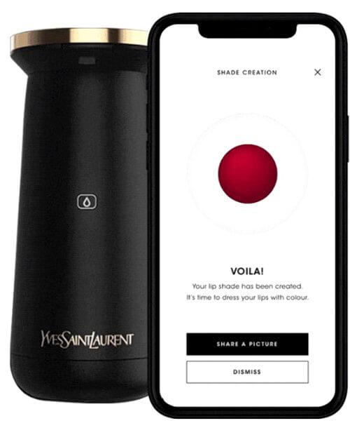 YSL Le Rouge Sur Mesure appareil pour fabriquer son rouge à lèvres