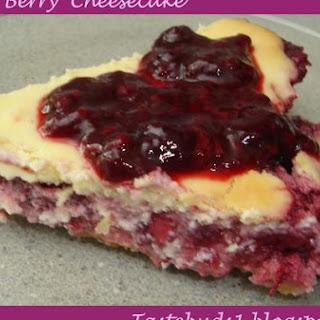 Triple Berry Cheesecake.