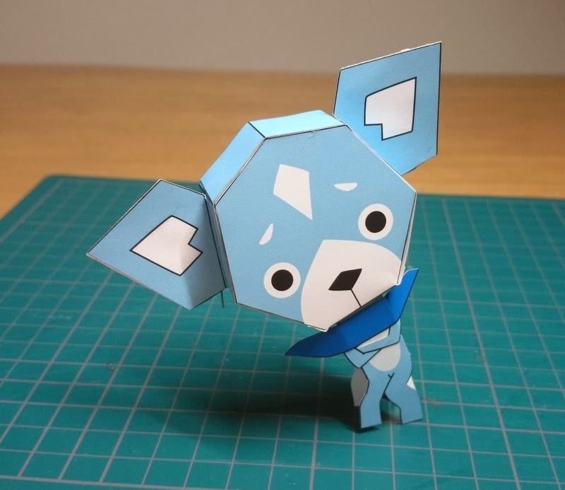 Yokai Watch Sam Papercraft