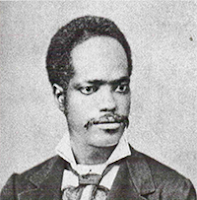 Pintor Estevão Silva  foto do acervo do Museu Afro Brasil