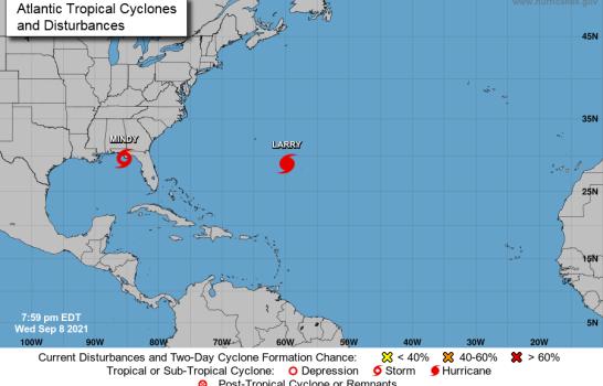 Se forma tormenta tropical Mindy; se dirige a Florida