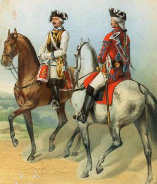 Тяжелая кавалерия в России -- кирасиры