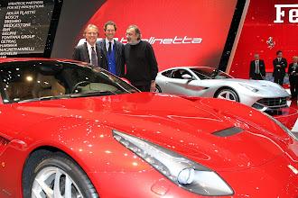 Photo: Luca di Montezemolo, John Elkann and Sergio Marchionne