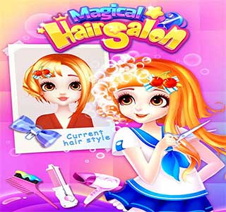 لعبة Hair salon for girls