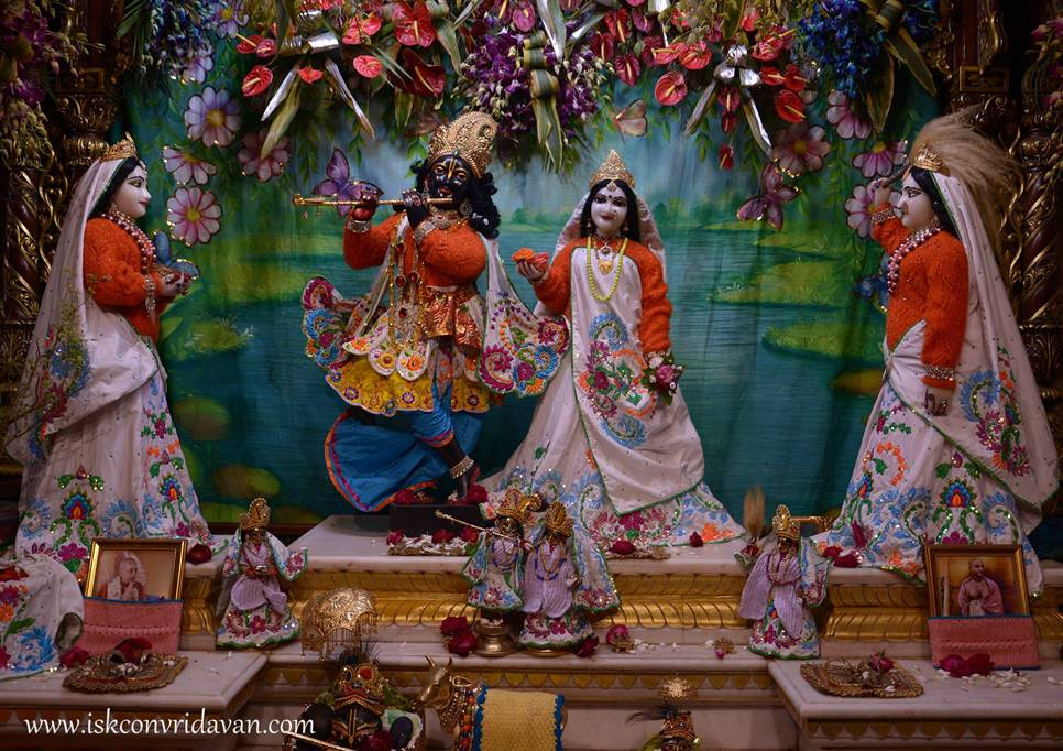 ISKCON Vrindavan Mangal Deity Darshan 27 Feb 2016 (5)