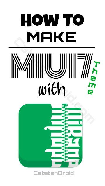 Cara Mudah Membuat Sendiri Tema MIUI mtz File Tanpa PC