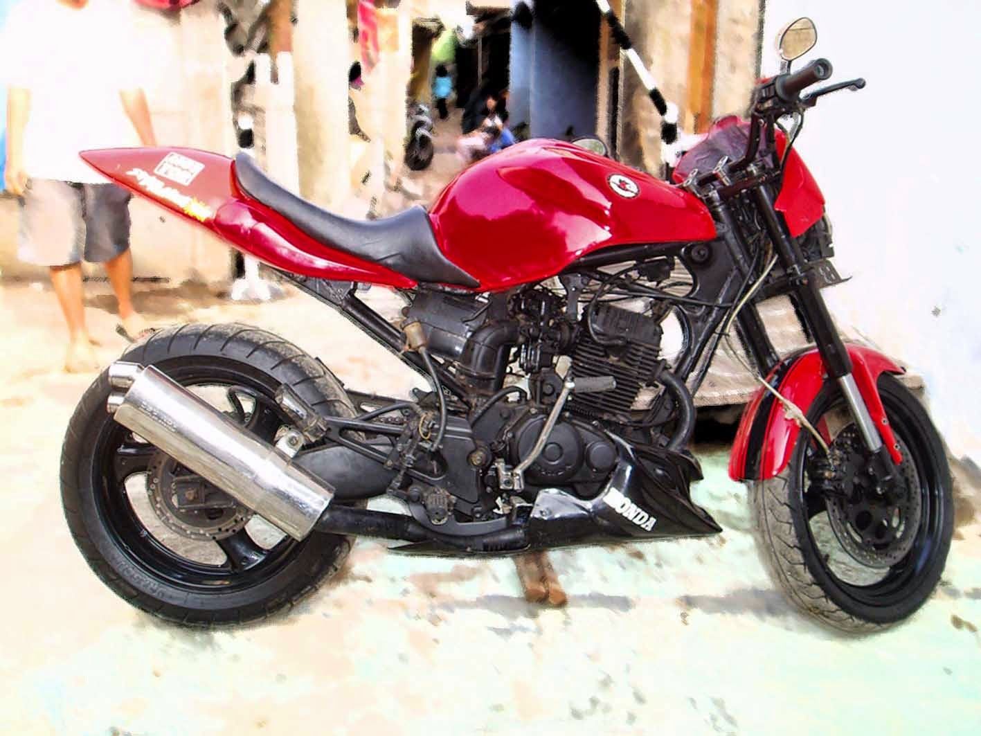 Modifikasi Sport Honda Tiger Revo