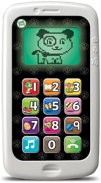 Điện thoại cho bé LeapFrog màu xanh kích thước giống y như của ba mẹ