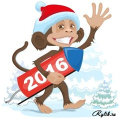 картинка обезьяны на 2016