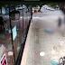 VÍDEO: AO SAIR DE RESTAURANTE, MULHER É ATINGIDA POR ASSALTANTE