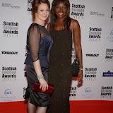 WWW.ENTSIMAGES.COM -   Kelly Johnson and Kezhia Orege  at    Scottish Fashion Awards  at 8 Northumberland London October 9th 2013                                                 Photo Mobis Photos/OIC 0203 174 1069