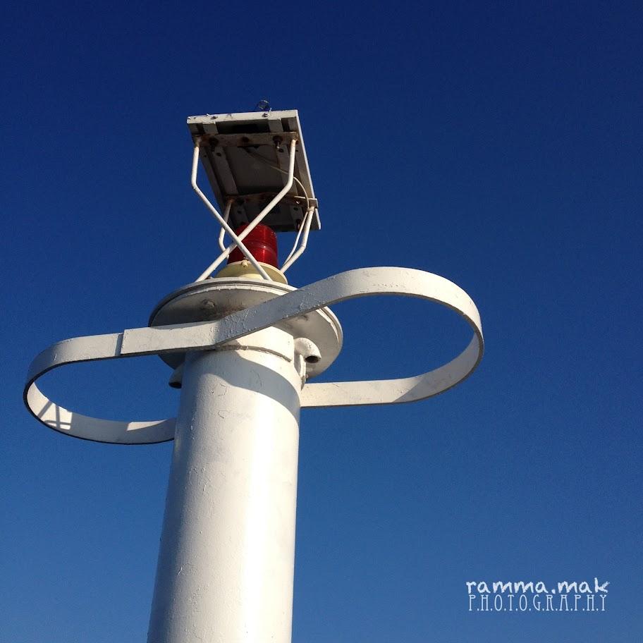 碼頭的燈塔