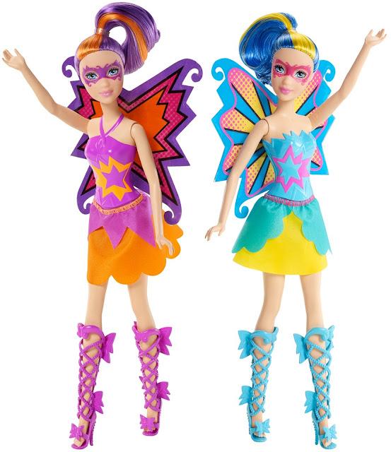 Những Nàng Búp bê Siêu nhân mặt nạ Barbie in Princess Power