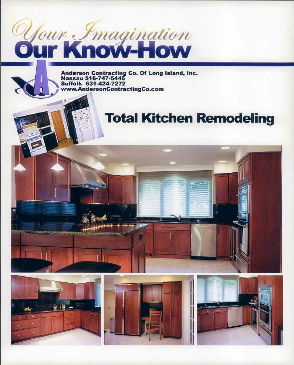 kitchen remodeling anderson contracting co of long island inc 1