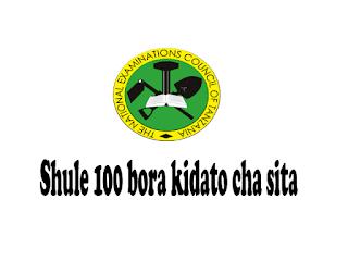 100 bora kidato cha sita 2021