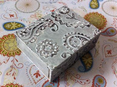 antiqued matchbox