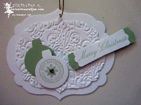 stampin up, case a christmas card, come to bethlehem, framelits, brokat, christbaumschmuck, ornament keepsakes