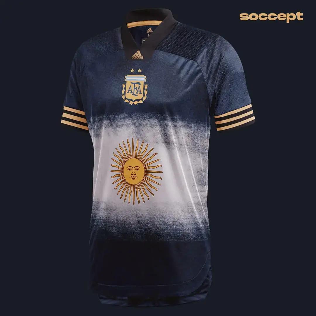 Bocoran Jersey Away Argentina COPA 2020-2021