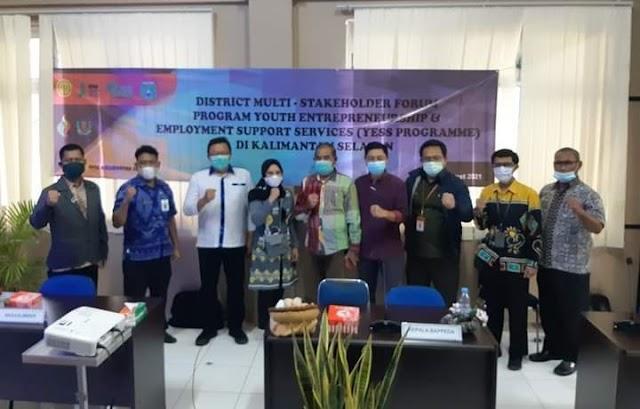 Lagi, PPIU Kalsel Gelar DMSF YESS Programme di Tanbu