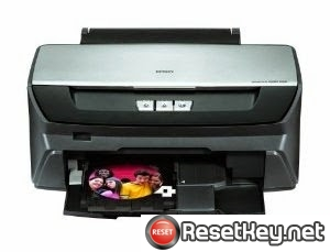 Reset Epson R260 End of Service Life Error message