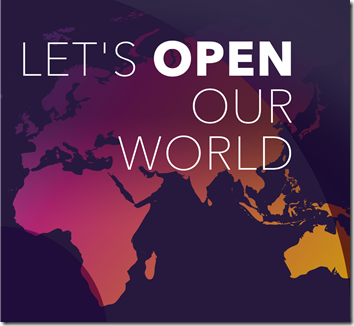 "Travel search website momundo contest: ""Let's Open Our World"""