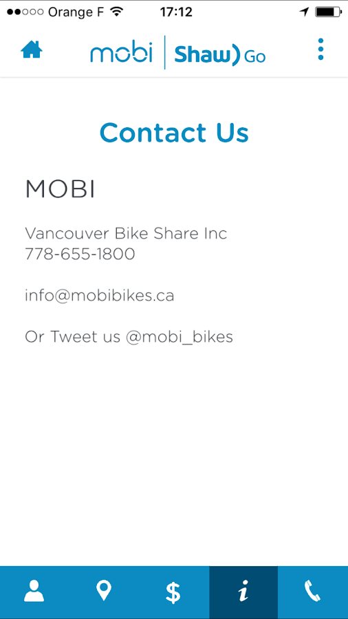 Mobi by Shaw Go - Vancouver- screenshot