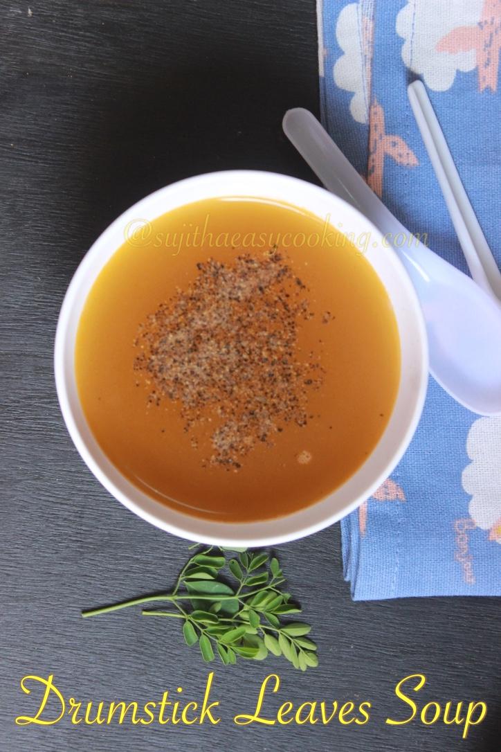 Drumstick Leaves Soup2