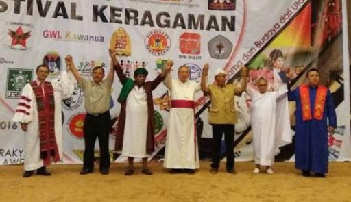 Manado Ada Sholawatan Kolaborasi Dengan Lagu Natal