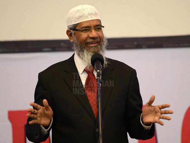 Kenapa Putrajaya 'lindungi' Zakir Naik, soal wakil rakyat DAP